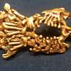 david yurman vintage abstract eagle belt buckle