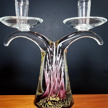 Murano Art Glass Candle Holder? - Art Glass