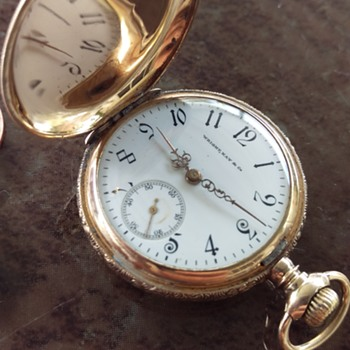 Wright,Kay & Co. 14K Gold Ladies Pocket Watch - Pocket Watches