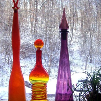 Magic Bottles - Art Glass