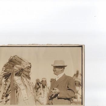 Photos  Glacier Park Montana 1915 Indians T Roosevelt  - Photographs