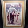 Rodeo Cowboy  Print #15/30 signed Zane ?