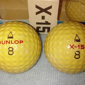 Dunlop X-15 Golf Balls