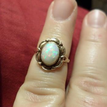 10K Victorian Opal Ring - Fine Jewelry