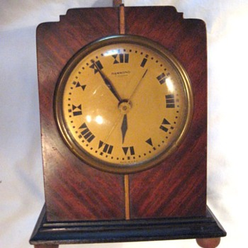 Hammond Art Deco Bichronous Mantle Clock, Columbia 1931