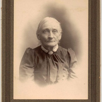 Family Photograph - Older Lady Relative - Photographs