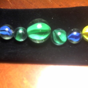 Some Vintage Marbles - Games
