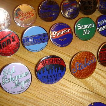 Tap knob inserts - Breweriana