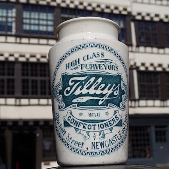 TILLEYS CREAM POT BLACKETT STREET NEWCASTLE - Bottles