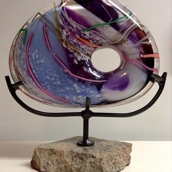 Homer James Yarrito Glass Art Sculpture - Art Glass
