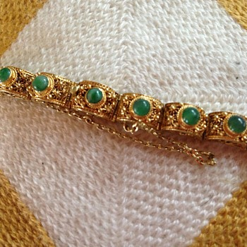 Jade bracelet - Fine Jewelry