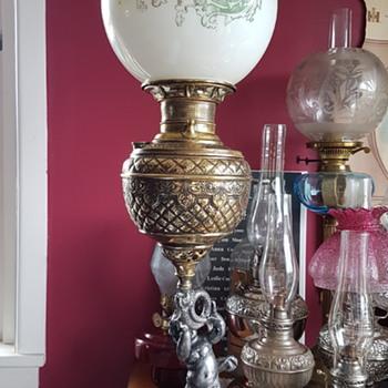 Miller Cherub Banquette Lamp  - Lamps