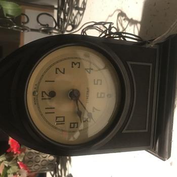 Thi Richardson co molded products melrose  clock  - Clocks