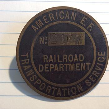 Railroad Badge - Railroadiana