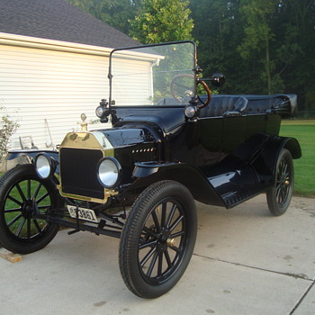 My 1916 Ford Model T - Classic Cars