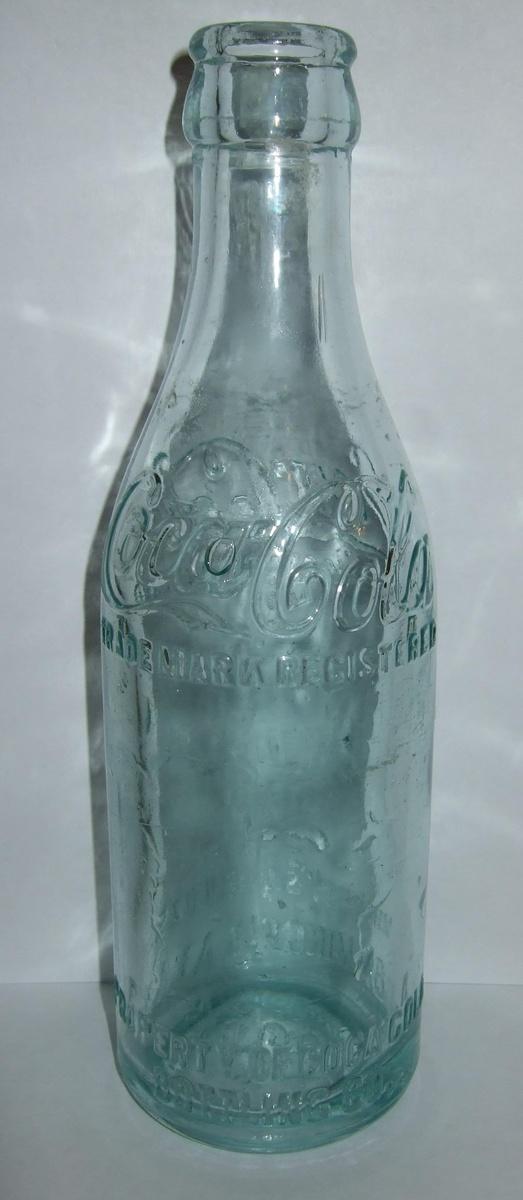 straight sided coke bottles