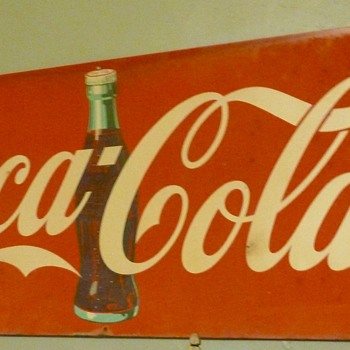 Tin Sign With Enamel Paint