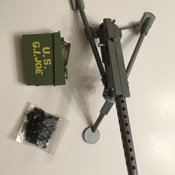 GI Joe Action Soldier machine gun - Toys