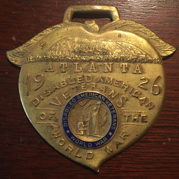 1926 Atlanta Disabled American Veterans of the World War - Military and Wartime