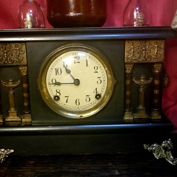 Black Mantel Clock - Clocks