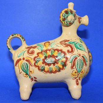 Mysterious Ram Creamer - Pottery