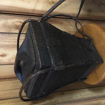 Basket/Backpack  - Asian