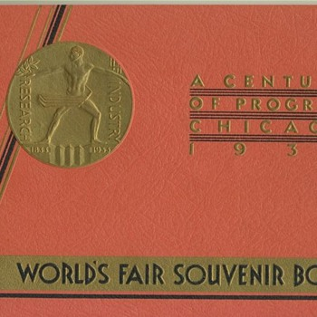 1934 Worlds Fair Souvenir Book - Books