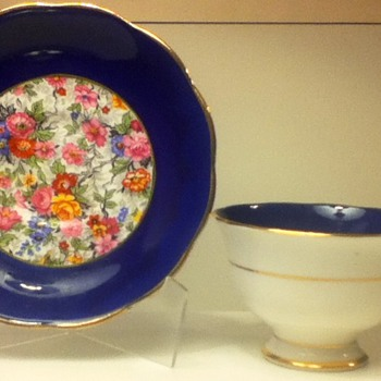1920s-1930s Royal Albert Cup and Saucer Sets - China and Dinnerware