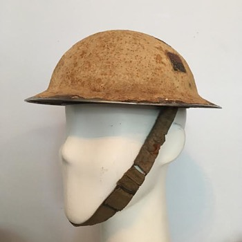 WWII No. 5 Company Canadian Provost Corps Helmet