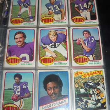 Skol Vikings! 1974-76 Topps and Wonder Bread