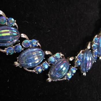 CORO set of Blue  - Costume Jewelry