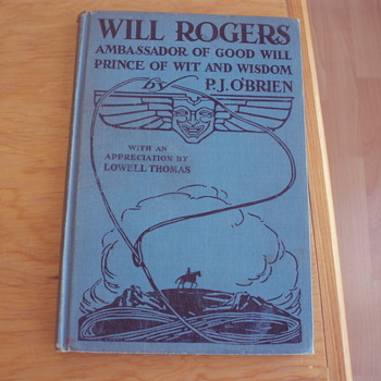 WILL ROGERS 1935 - Books