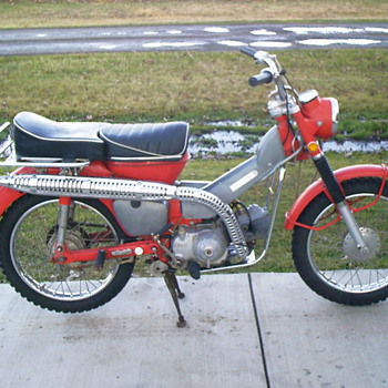 1970 Honda CT90 Trail 90  - Motorcycles