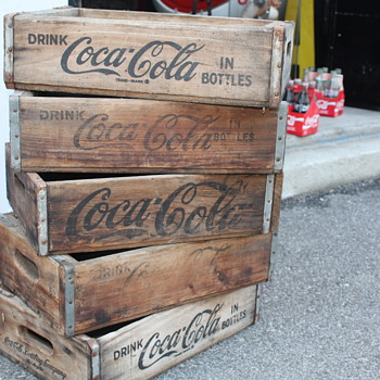 Wooden Coca Cola Crates - Coca-Cola