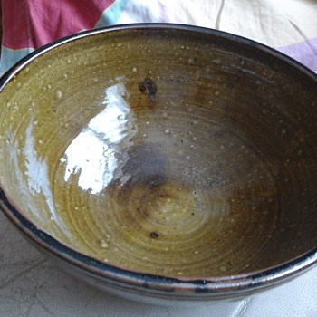large studio bowl - Pottery