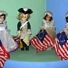 Carlos Dolls Betsy Ross and George Washington