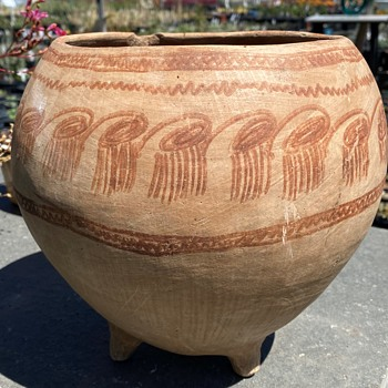 Mexican 3 Footed Olla - Pottery