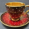 Carlton Ware Rouge Royale Cup and saucer