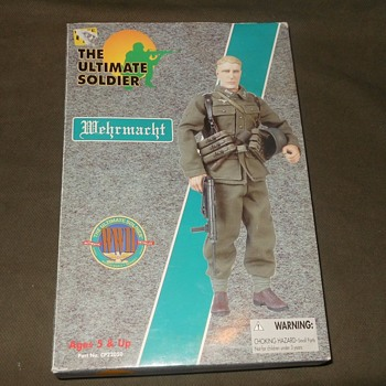 "21st Century Toys Ultimate Soldier World War II Wehrmacht 12"" Figure - Military and Wartime"