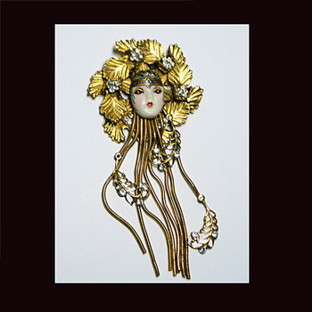 One of My Favorite Art Deco Brooches - Art Deco