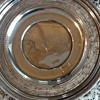 Reed and Barton 8 inch pierced sterling plate