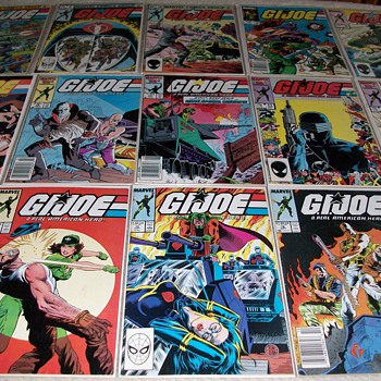 My G.I. Joe Comic Book Collection