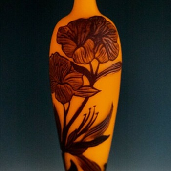 Loetz Richard Cameo, no PN c. 1920's - Art Glass