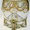 Five footed Loetz vase designed by Marie Waltl