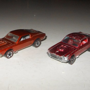 Hot Wheels Wednesday 1968 Custom Mustang From 1968 - Model Cars