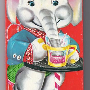1966 ALFIE THE PLAYFUL ELEPHANT