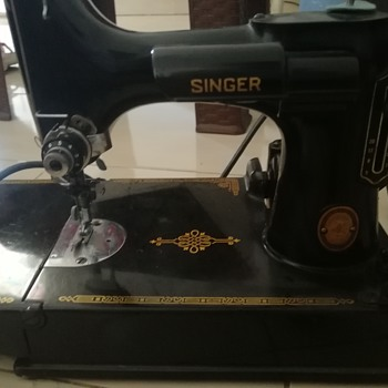 My father singer - Sewing