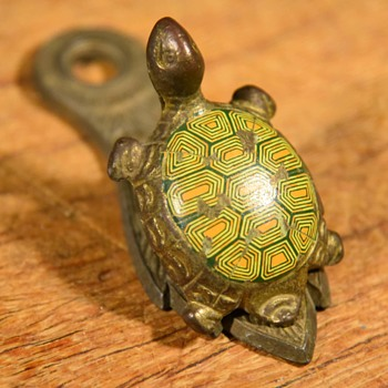 Allied Brass Enameled Turtle Paper Clip? - Office