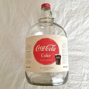 Coca-Cola Syrup Jug - Coca-Cola