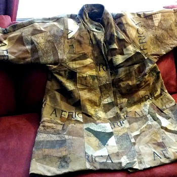 Hand Stitched Suede Coat Theme 1590 AFRICA - Mens Clothing